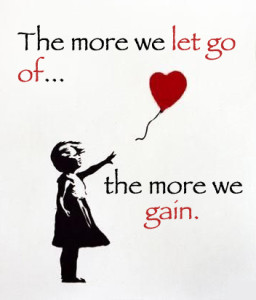 Releasing and Letting Go