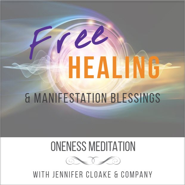 Oniness Meditation with Jennifer Cloake Intuitive Healer