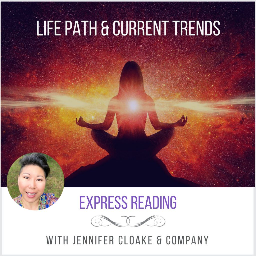 Psychic reading Intuition life path center of oneness jennifer cloake