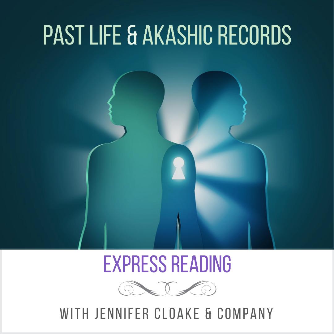 jennifer cloake express reading past life and akashic records