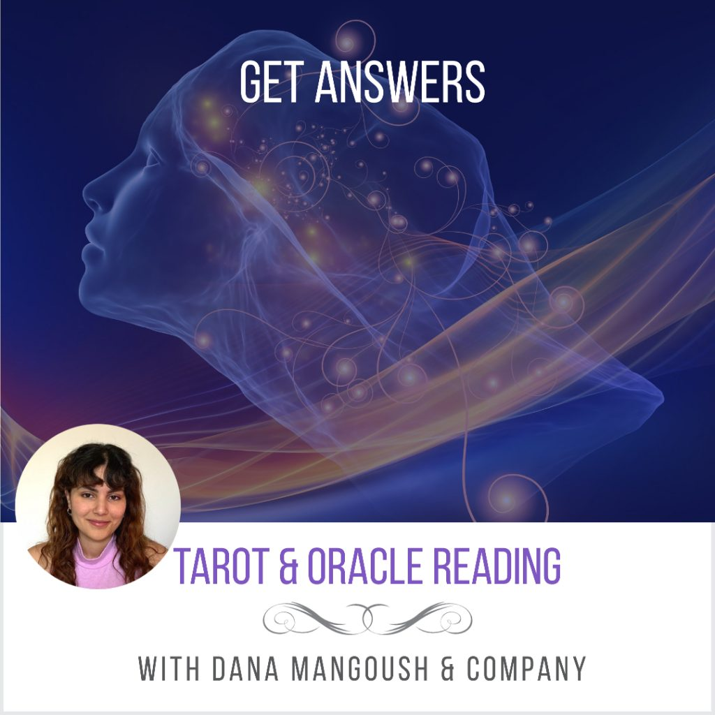 Center of oneness psychic tarot reading dana mangoush