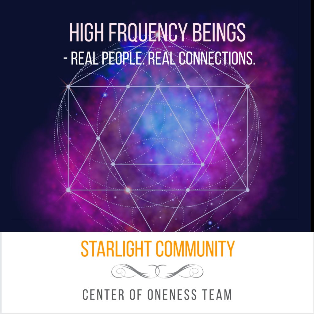 Starseed Lightworker Spiritual Community Center Of Oneness