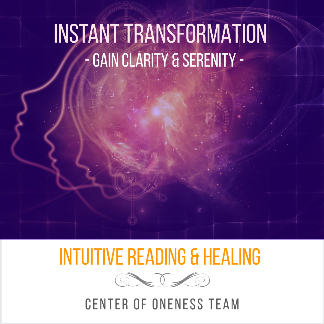 center of oneness readings healing private